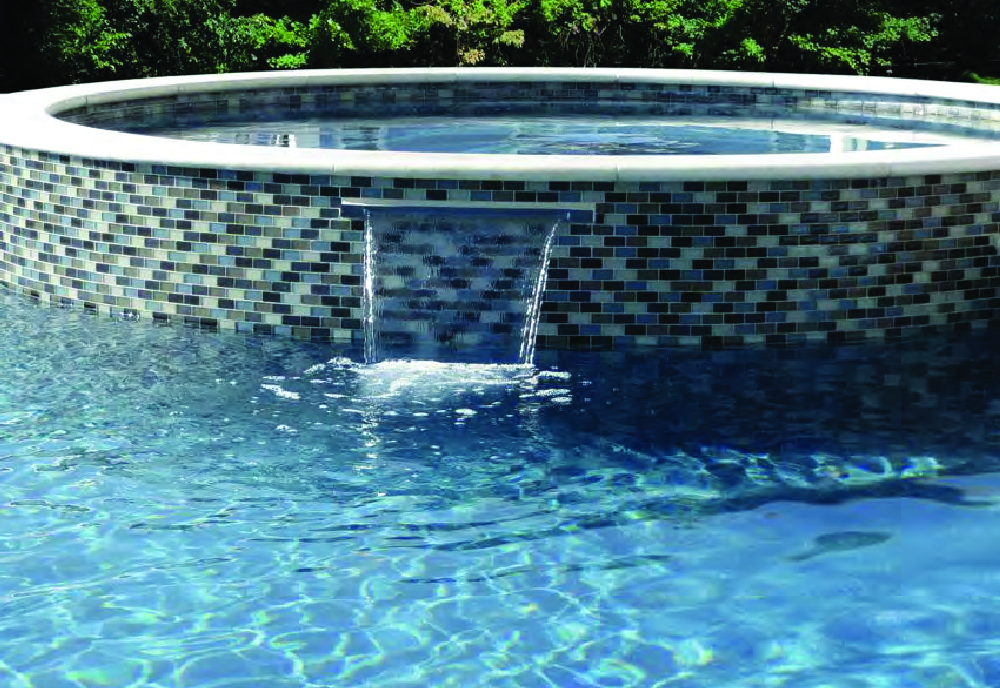 inground pool plaster, gunite, Rochester, NY, Precision Pool and Spa
