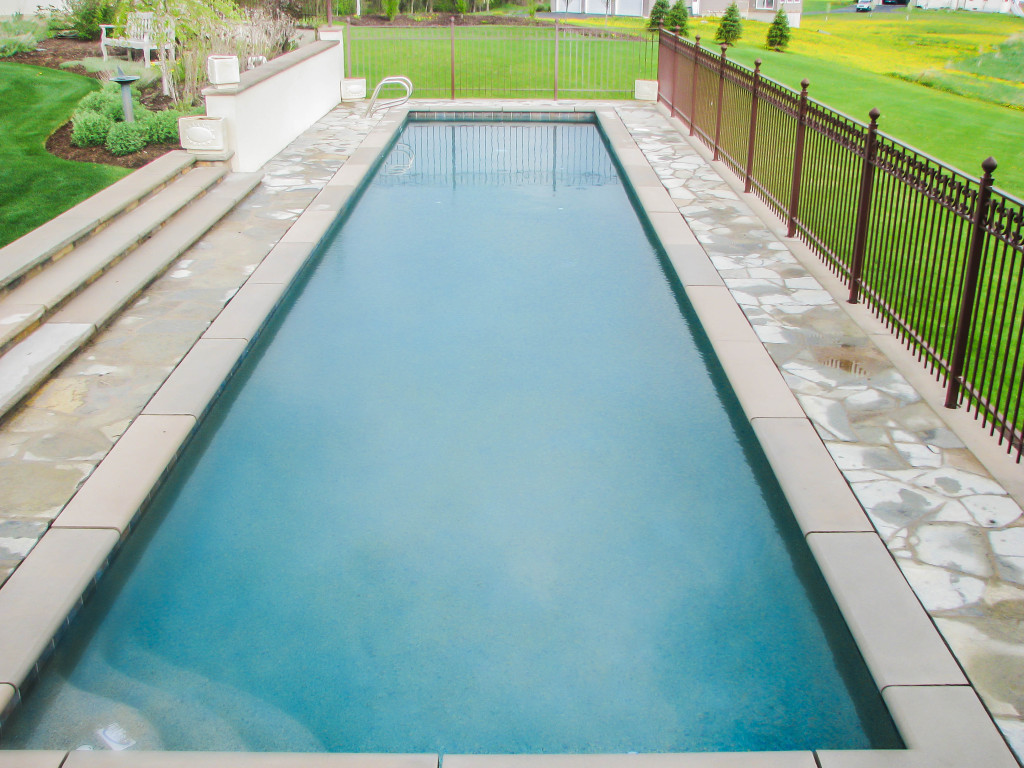 inground pool, lap pool, gunite,