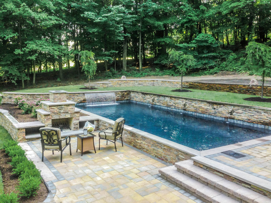 inground pool, Rochester, NY, Precision Pool and Spa