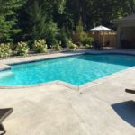 in-ground gunite pool, Rochester, NY