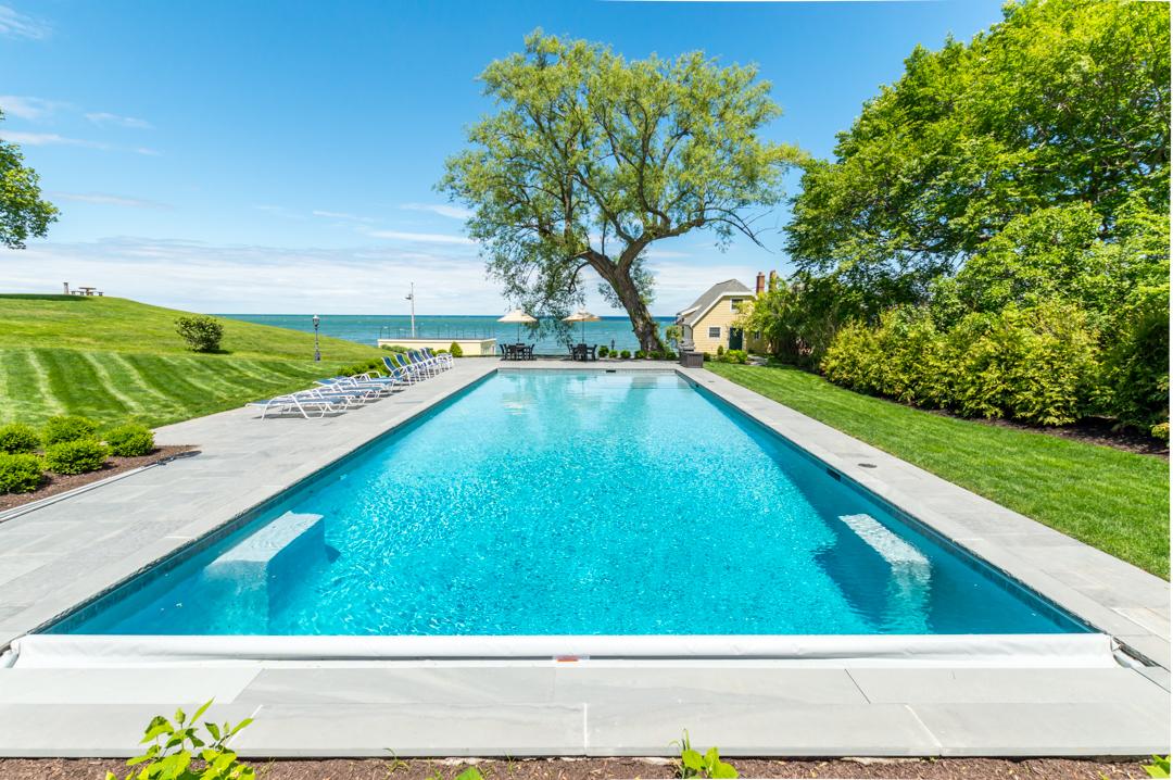 Exercise Pool, auto cover, Lakeside Lap Pool, lap pool designs, leisure, swim, gunite