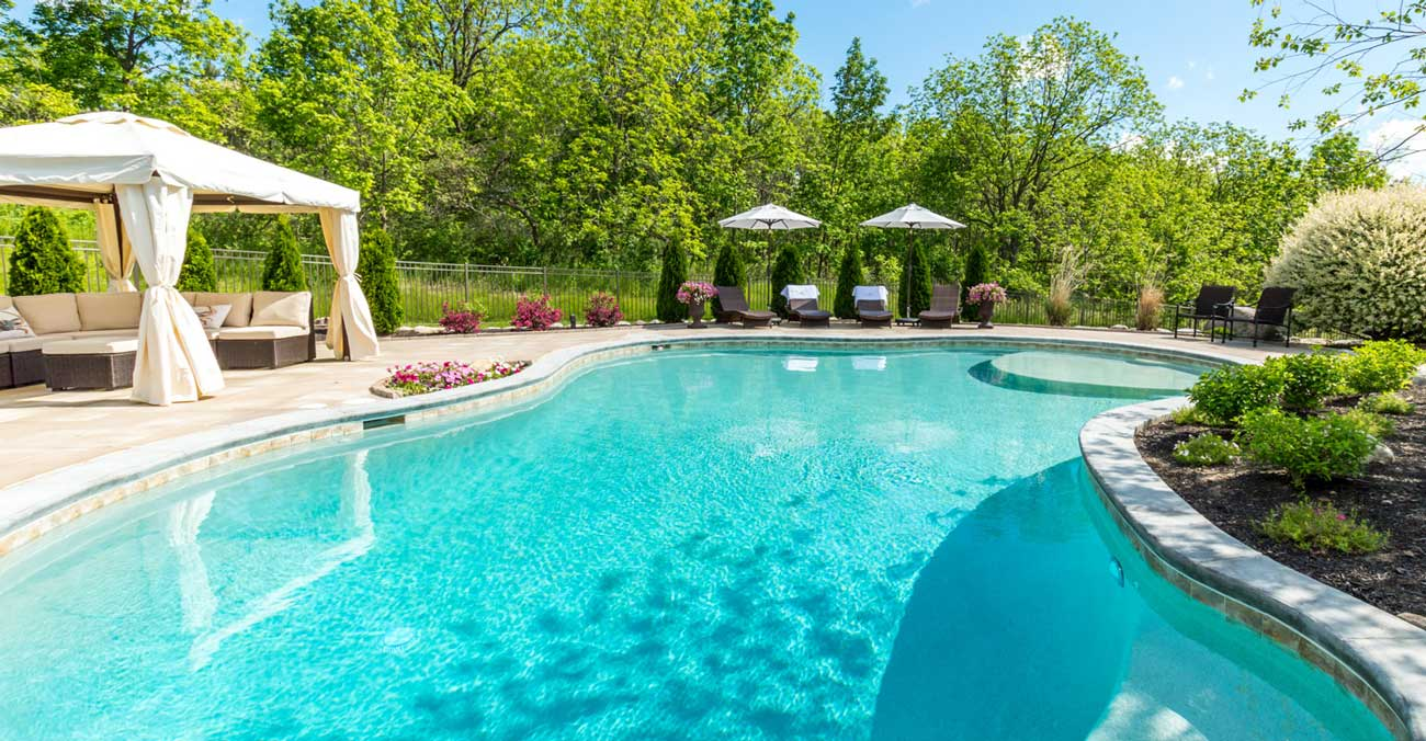 inground pool, gunite, Rochester pool and spa builder, Precision