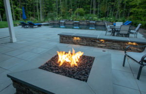 Pool and Spa with Fire Pit
